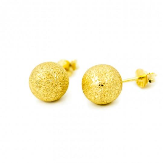 Kolczyki Złote Kulki 9mm